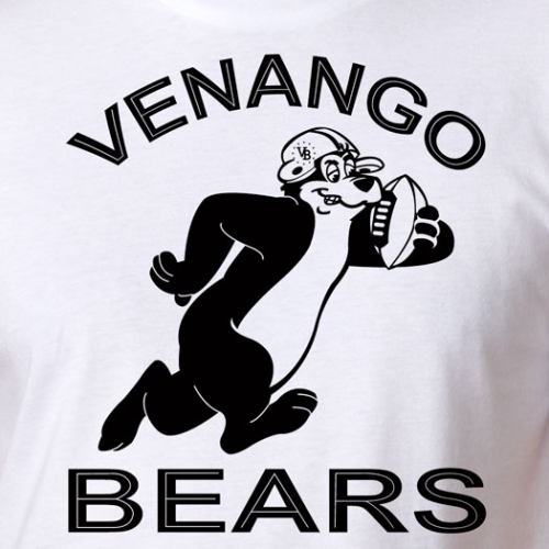 VENANGO BEARS RUNNING BEAR TEE