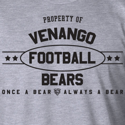 PROPERTY OF VENANGO BEARS TEE